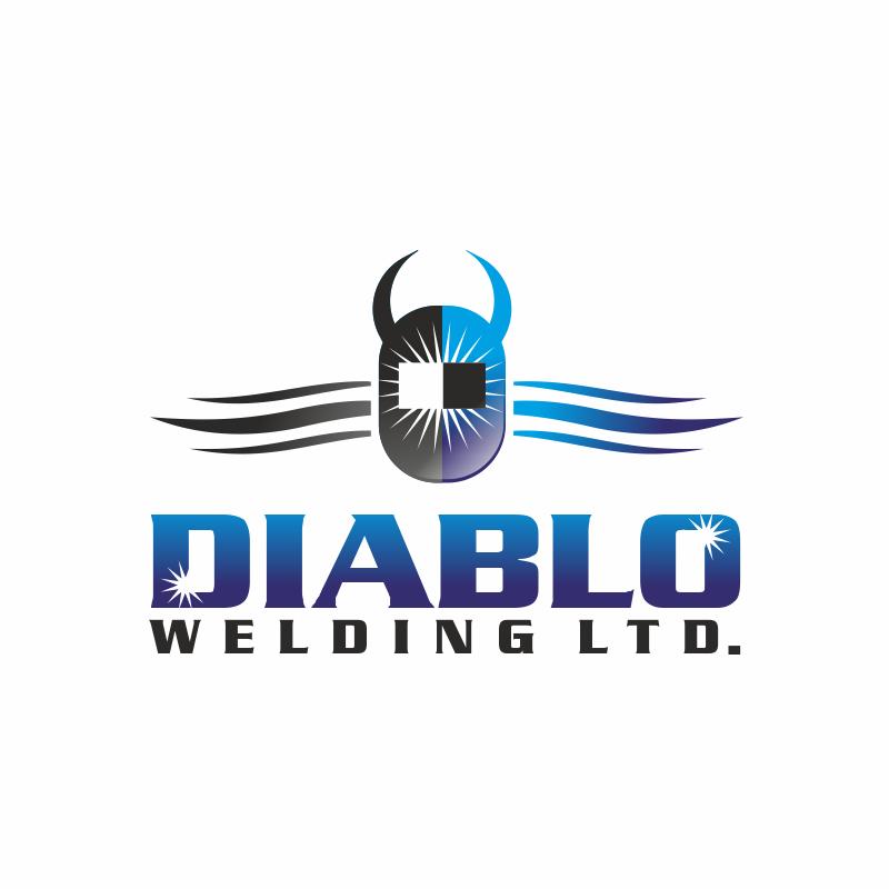 Logo Design by montoshlall - Entry No. 29 in the Logo Design Contest New Logo Design for Diablo Welding Ltd..