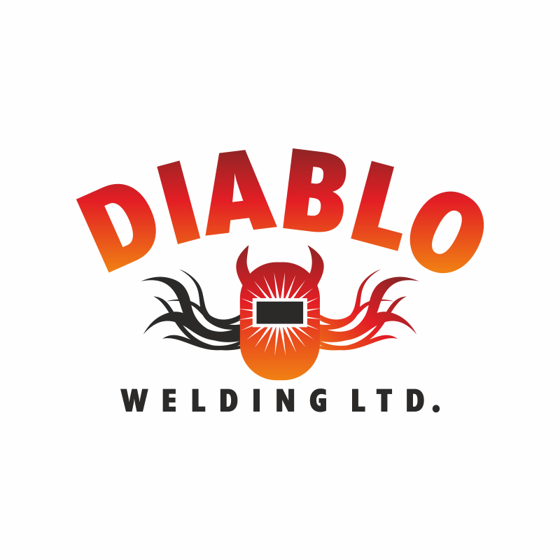 Logo Design by montoshlall - Entry No. 35 in the Logo Design Contest New Logo Design for Diablo Welding Ltd..