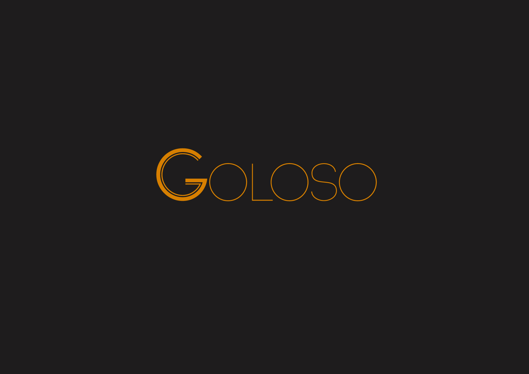 Logo Design by Osi Indra - Entry No. 7 in the Logo Design Contest Unique Logo Design Wanted for Goloso.