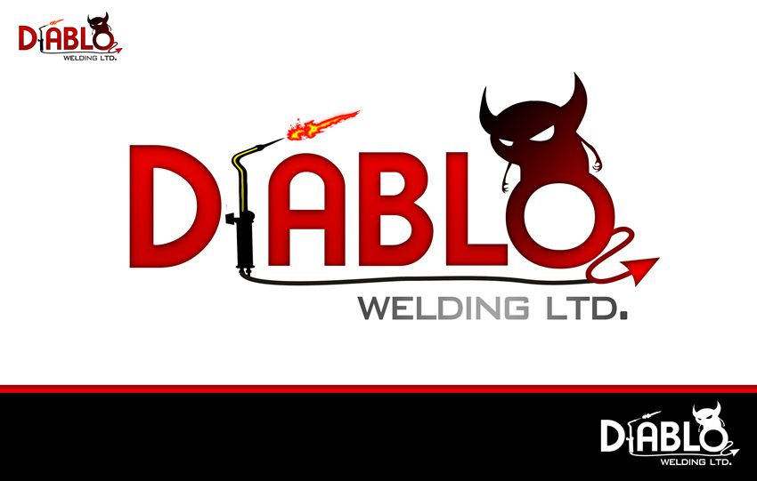 Logo Design by Respati Himawan - Entry No. 36 in the Logo Design Contest New Logo Design for Diablo Welding Ltd..
