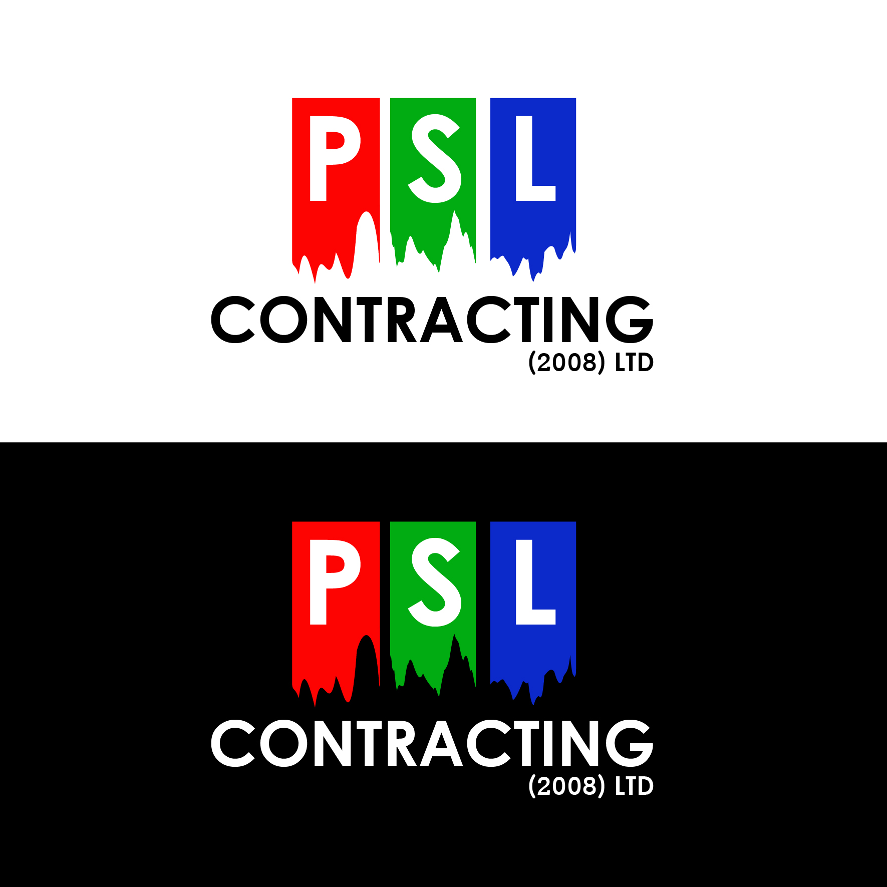 Logo Design by 3draw - Entry No. 2 in the Logo Design Contest PSL Contracting (2008) Ltd. Logo Design.