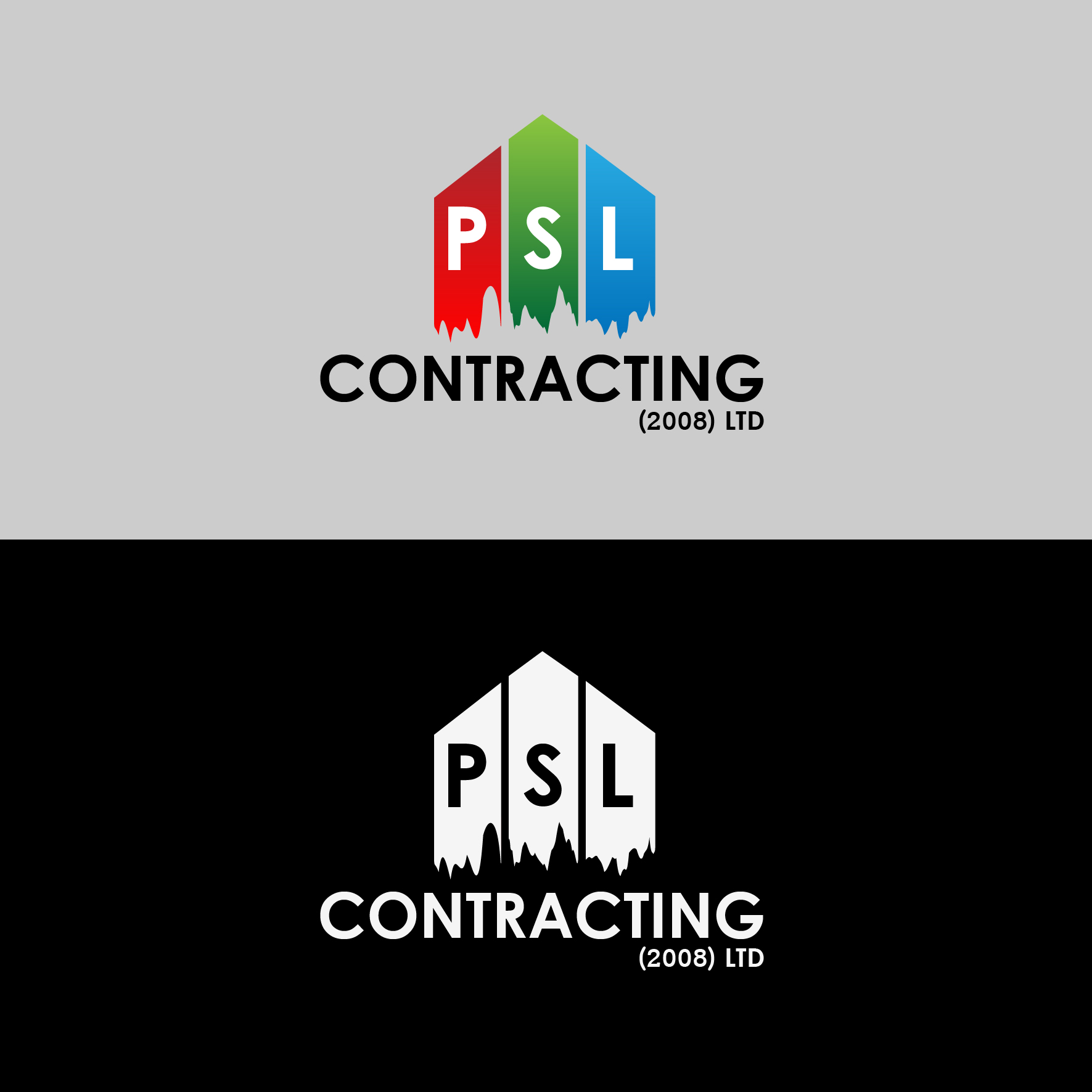 Logo Design by 3draw - Entry No. 3 in the Logo Design Contest PSL Contracting (2008) Ltd. Logo Design.
