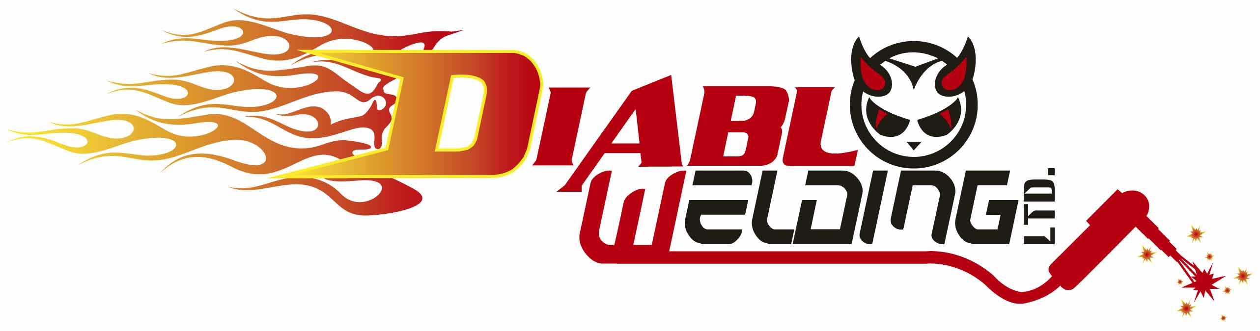 Logo Design by Jonathan Rasonable - Entry No. 39 in the Logo Design Contest New Logo Design for Diablo Welding Ltd..