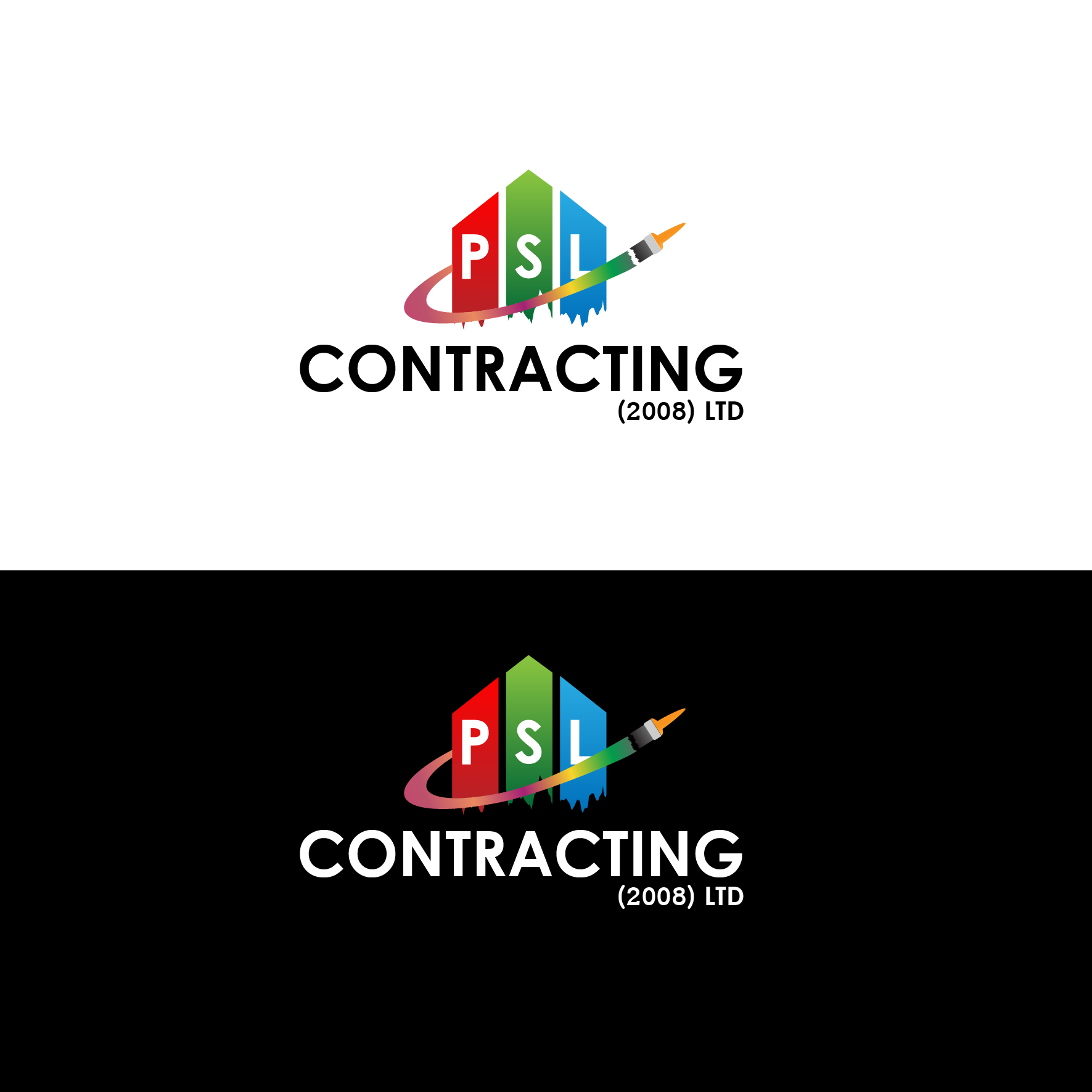 Logo Design by 3draw - Entry No. 5 in the Logo Design Contest PSL Contracting (2008) Ltd. Logo Design.