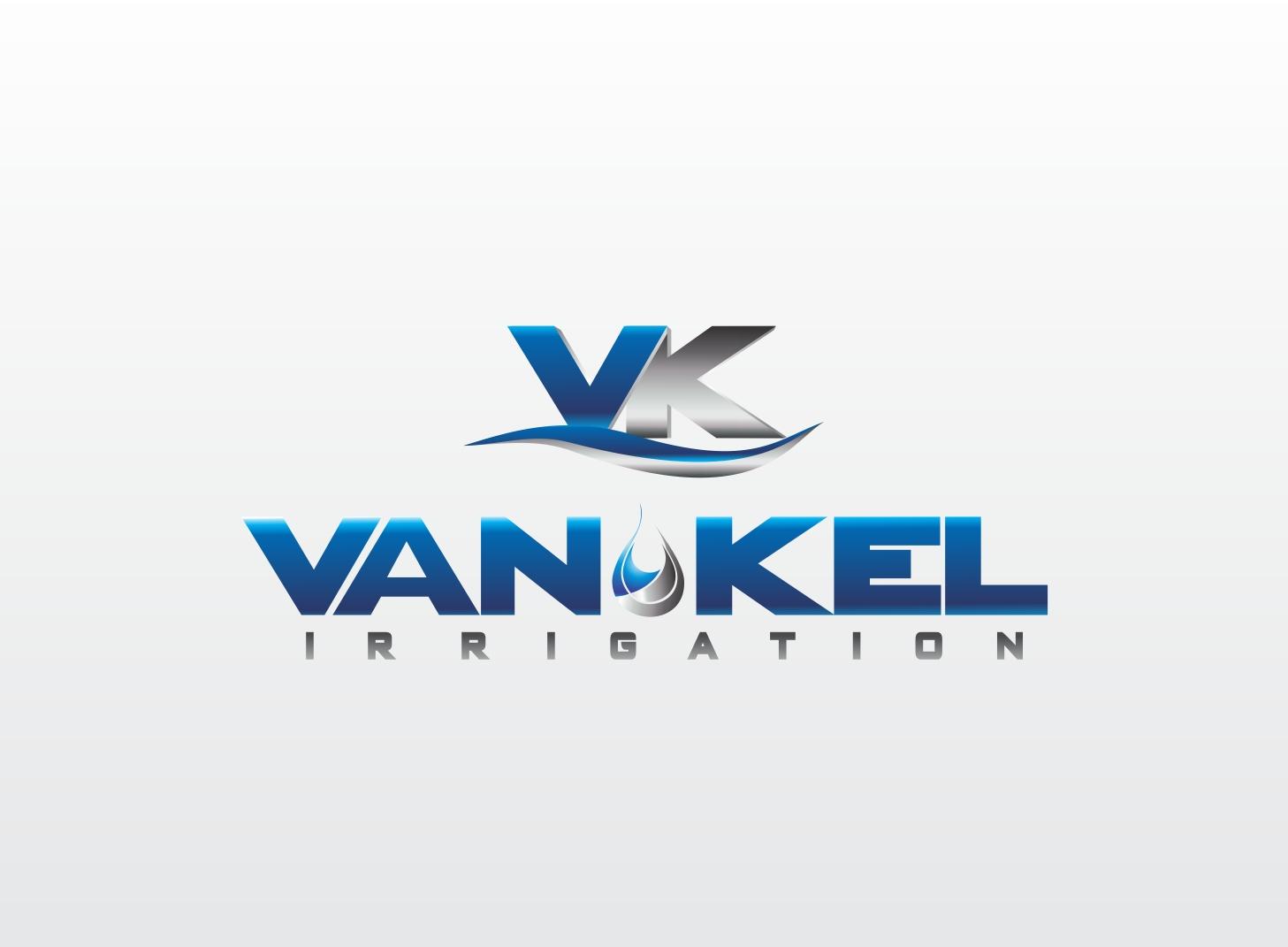 Logo Design by Zdravko Krulj - Entry No. 204 in the Logo Design Contest Van-Kel Irrigation Logo Design.