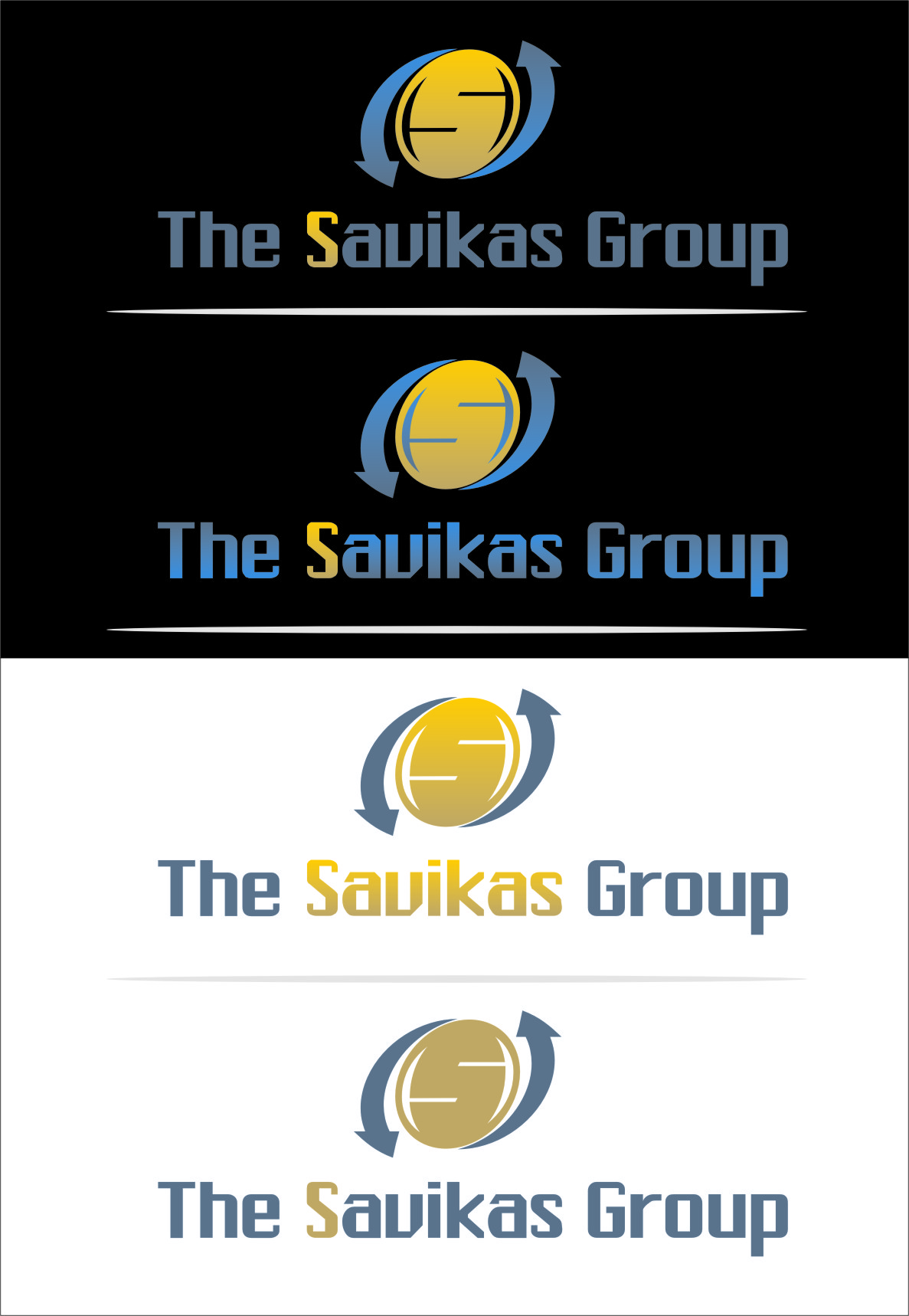 Logo Design by Ngepet_art - Entry No. 33 in the Logo Design Contest Logo Design Needed for Exciting New Company The Savickas Group.