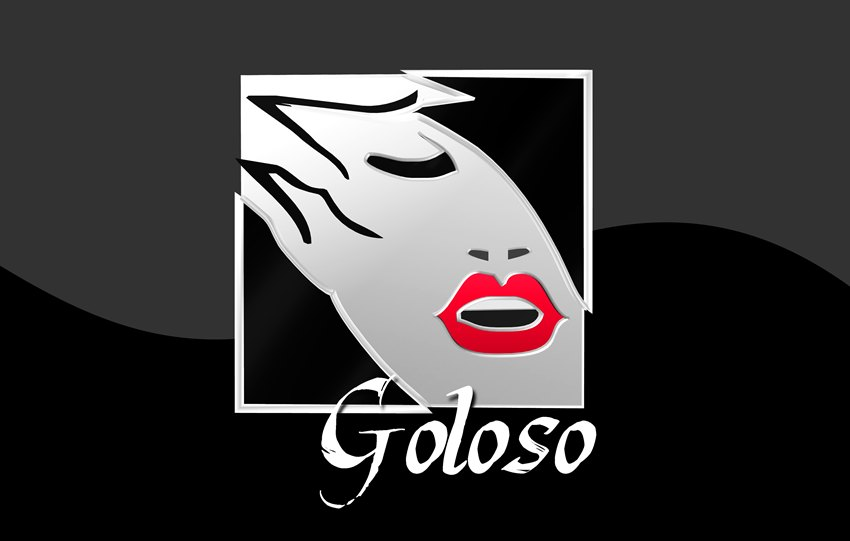 Logo Design by Respati Himawan - Entry No. 18 in the Logo Design Contest Unique Logo Design Wanted for Goloso.