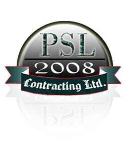 Logo Design by Ghayoor Shaikh - Entry No. 10 in the Logo Design Contest PSL Contracting (2008) Ltd. Logo Design.
