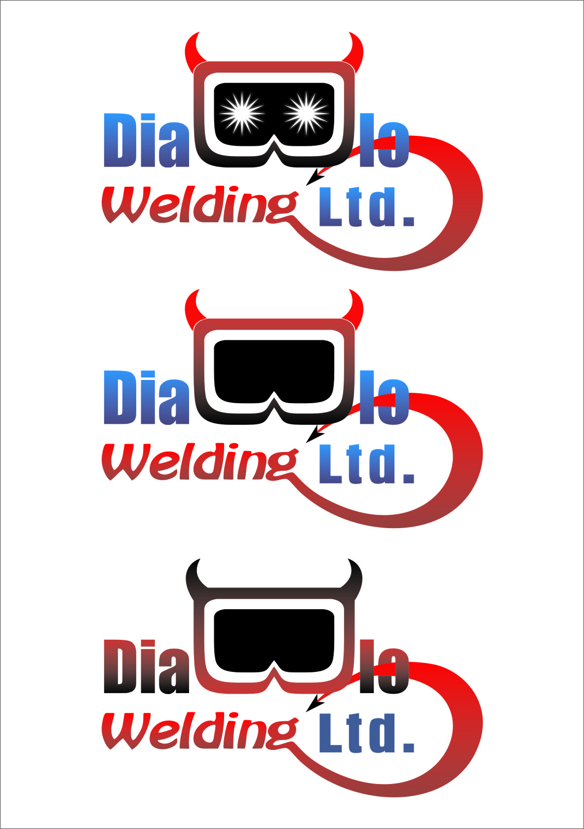 Logo Design by RoSyid Rono-Rene On Java - Entry No. 43 in the Logo Design Contest New Logo Design for Diablo Welding Ltd..