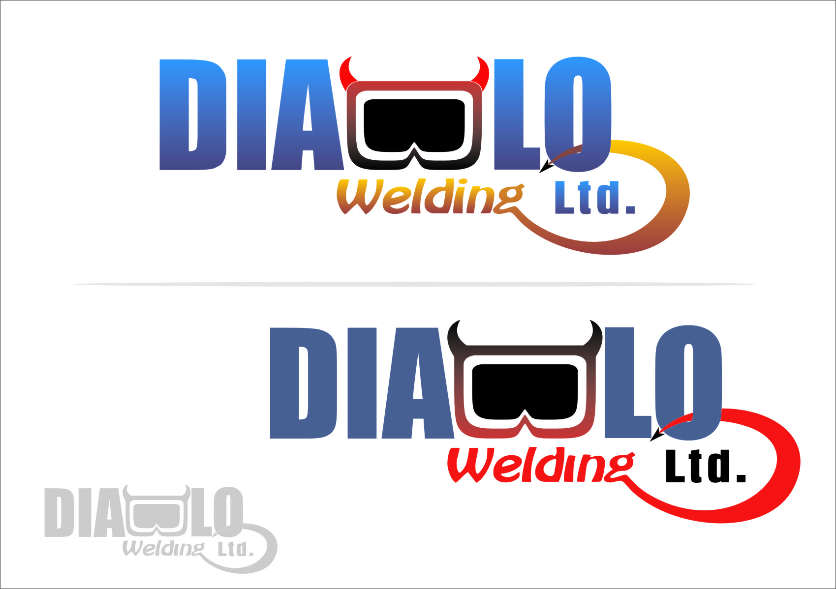 Logo Design by Ngepet_art - Entry No. 44 in the Logo Design Contest New Logo Design for Diablo Welding Ltd..