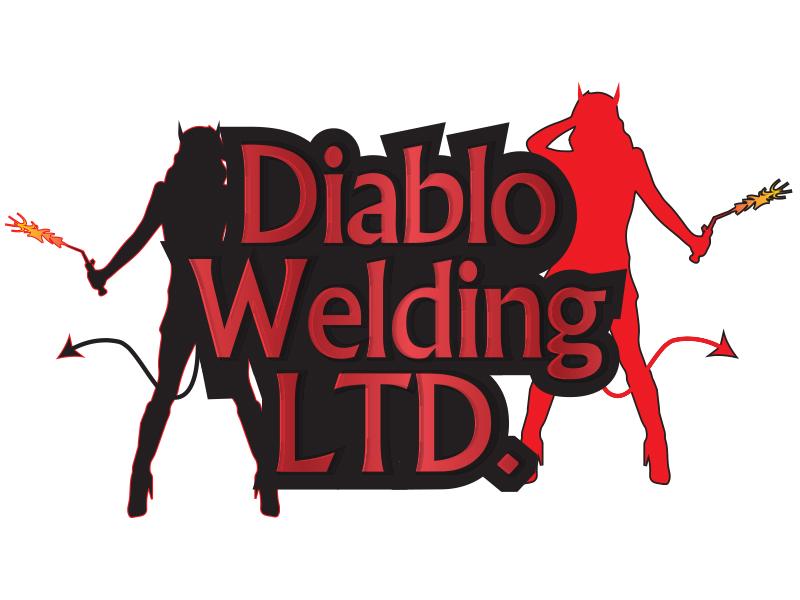 Logo Design by Mythos Designs - Entry No. 46 in the Logo Design Contest New Logo Design for Diablo Welding Ltd..
