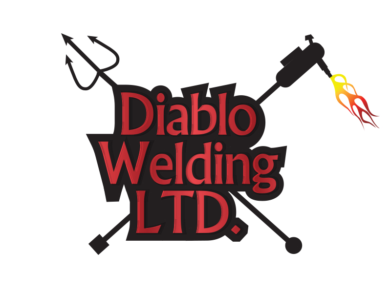 Logo Design by Mythos Designs - Entry No. 47 in the Logo Design Contest New Logo Design for Diablo Welding Ltd..