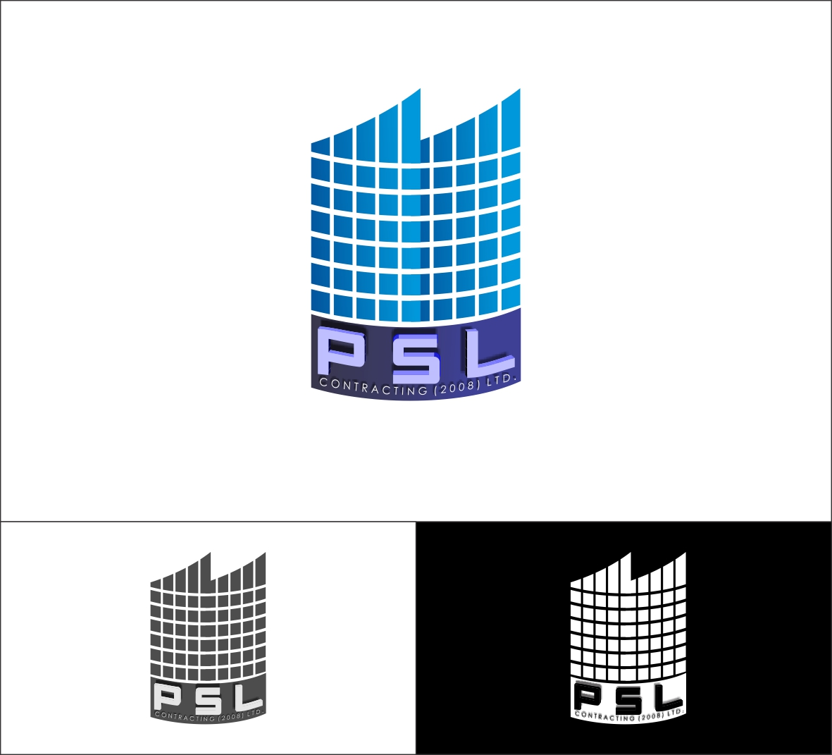 Logo Design by Hudy Wake - Entry No. 20 in the Logo Design Contest PSL Contracting (2008) Ltd. Logo Design.