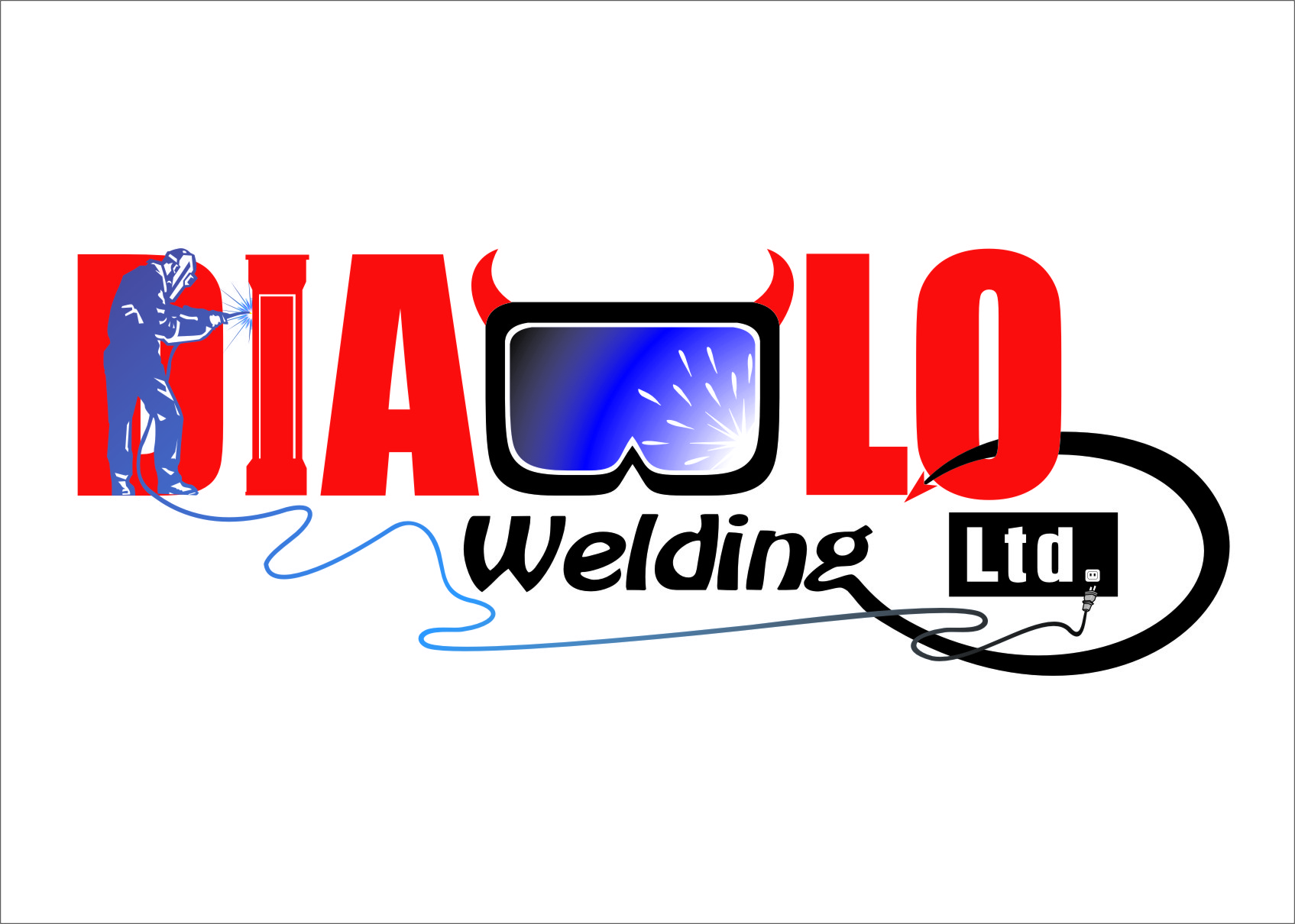 Logo Design by RasYa Muhammad Athaya - Entry No. 49 in the Logo Design Contest New Logo Design for Diablo Welding Ltd..