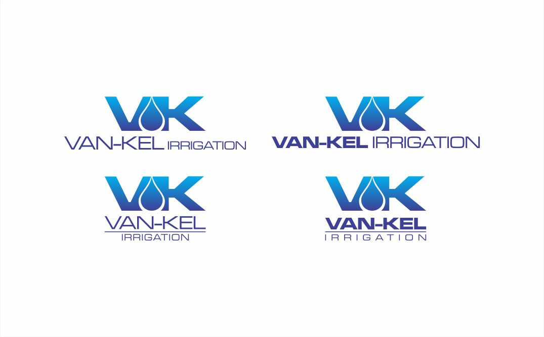Logo Design by sihanss - Entry No. 210 in the Logo Design Contest Van-Kel Irrigation Logo Design.