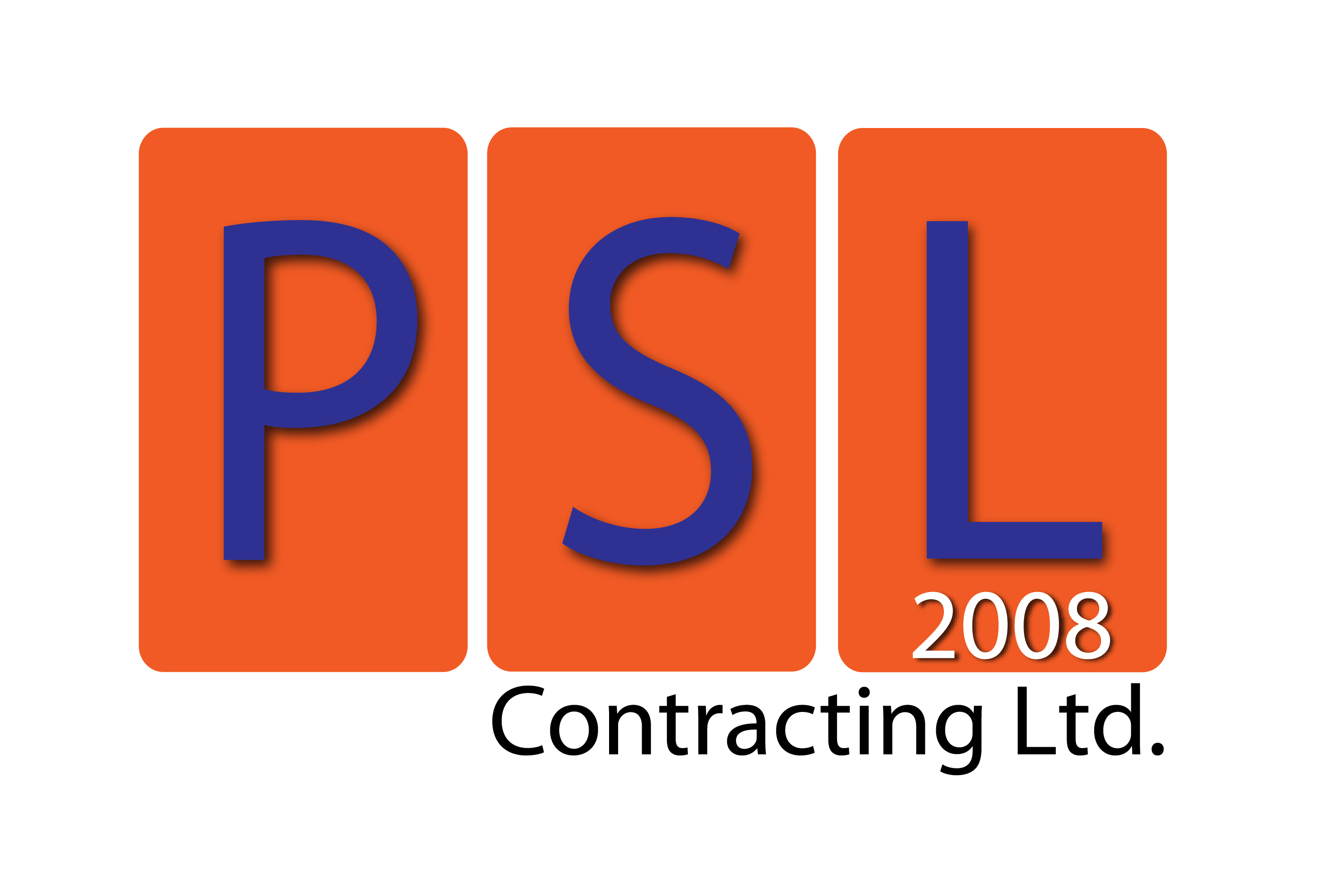 Logo Design by Jerry Nable Jr - Entry No. 23 in the Logo Design Contest PSL Contracting (2008) Ltd. Logo Design.