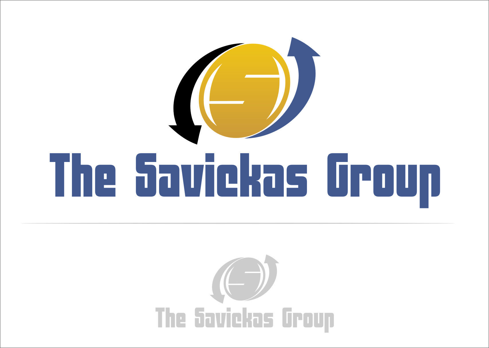 Logo Design by RasYa Muhammad Athaya - Entry No. 38 in the Logo Design Contest Logo Design Needed for Exciting New Company The Savickas Group.