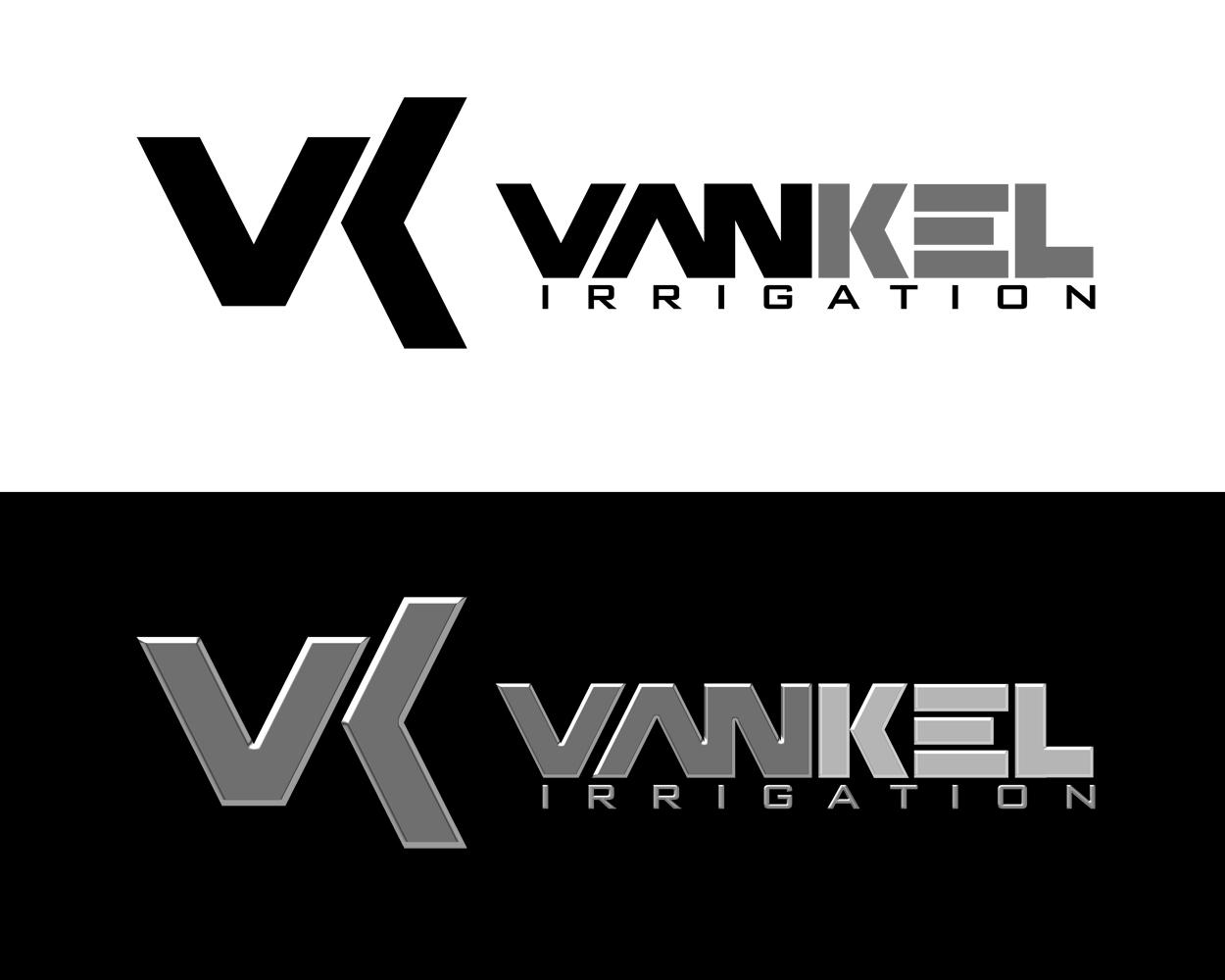 Logo Design by moidgreat - Entry No. 225 in the Logo Design Contest Van-Kel Irrigation Logo Design.
