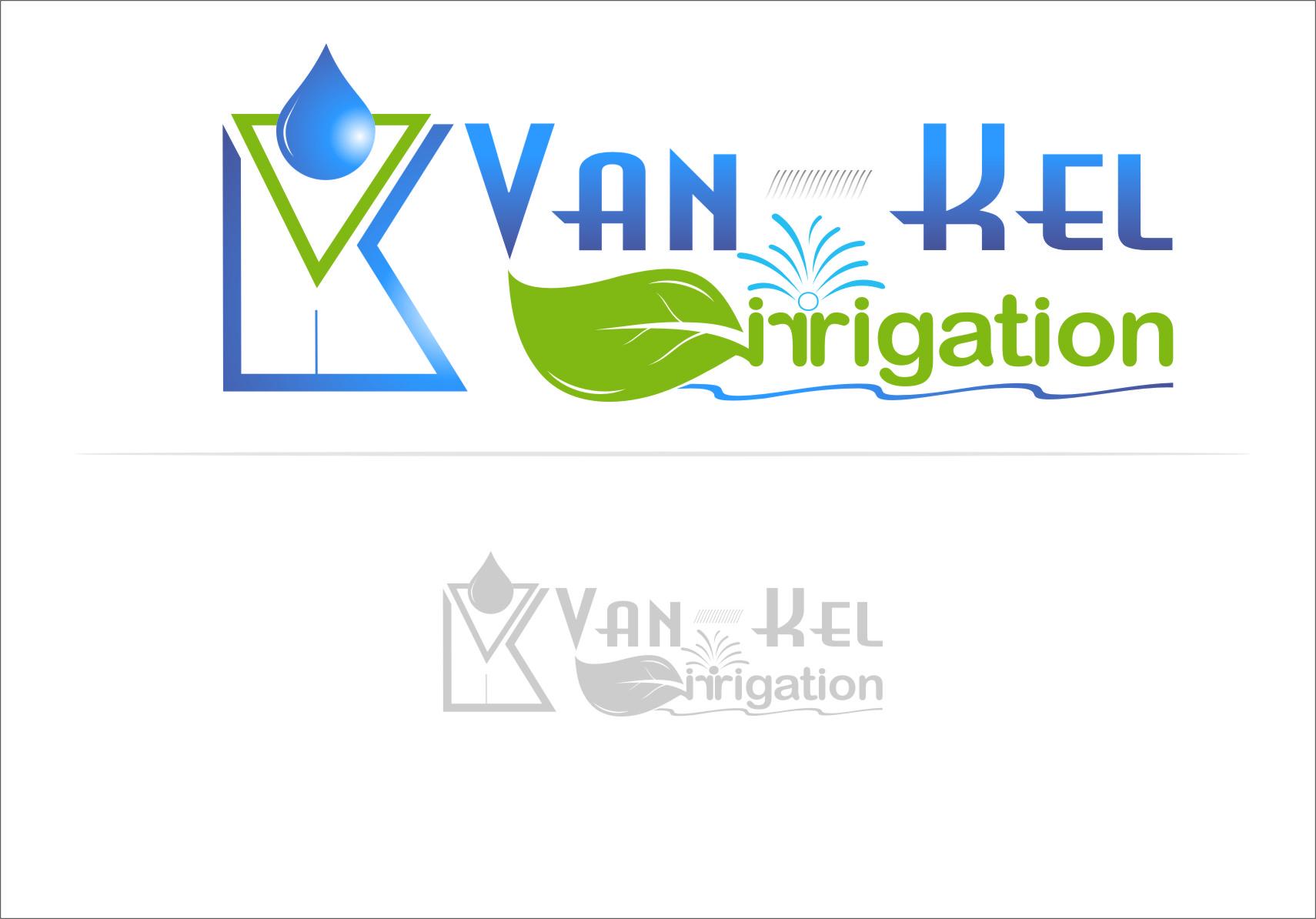 Logo Design by Ngepet_art - Entry No. 227 in the Logo Design Contest Van-Kel Irrigation Logo Design.