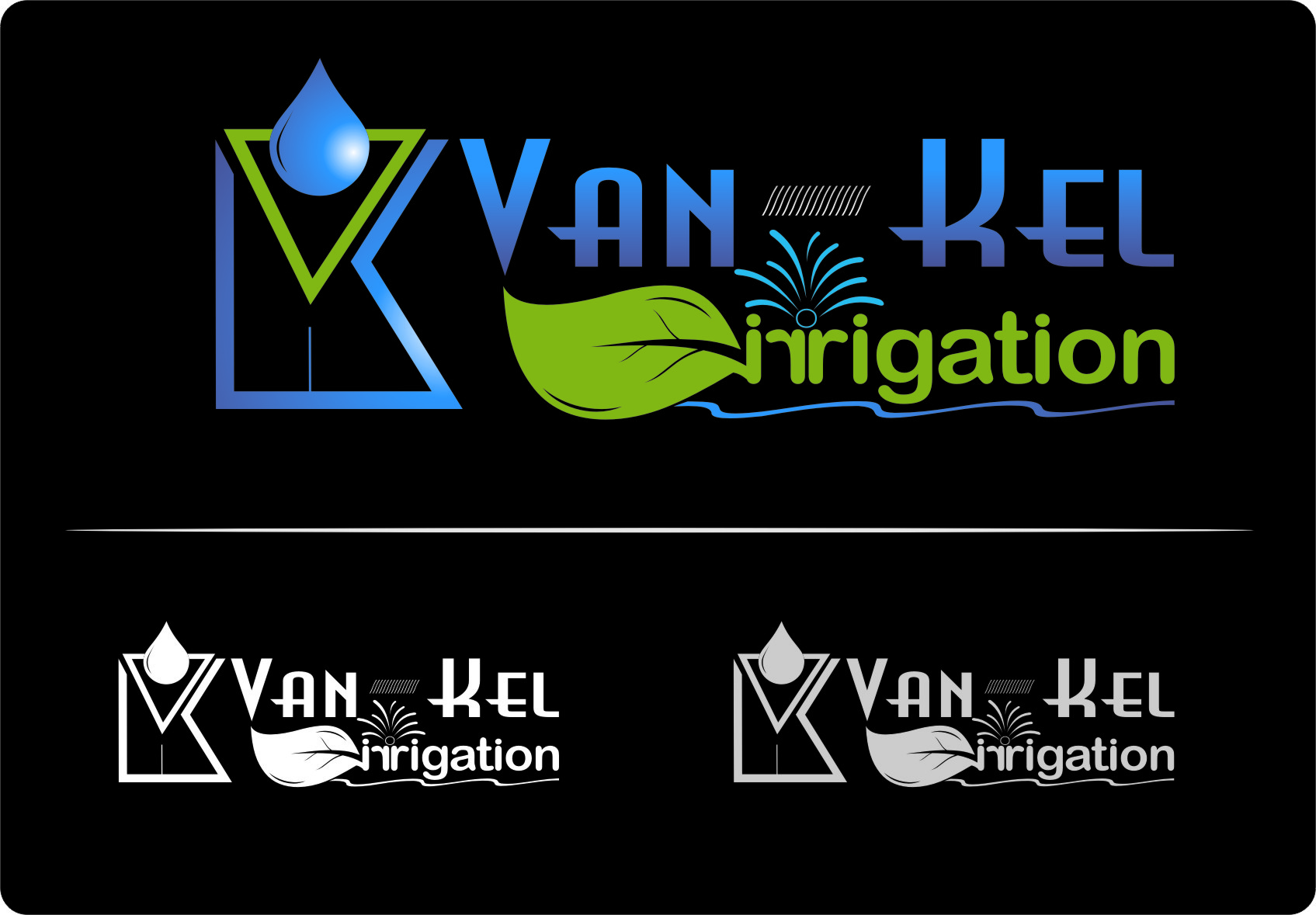 Logo Design by RasYa Muhammad Athaya - Entry No. 230 in the Logo Design Contest Van-Kel Irrigation Logo Design.