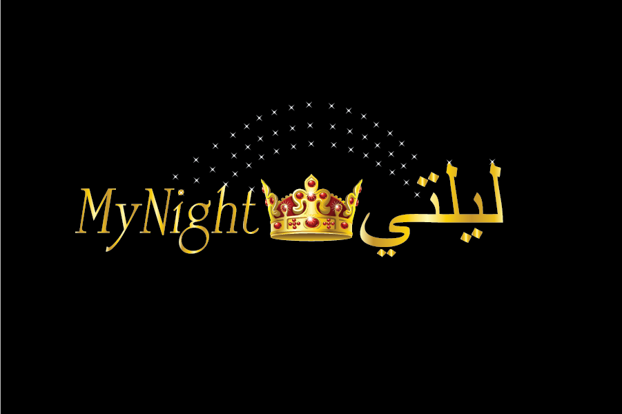 Logo Design by Private User - Entry No. 108 in the Logo Design Contest Unique Logo Design Wanted for My Night - ليلتي.