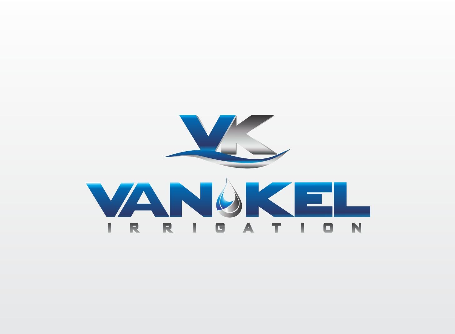 Logo Design by Zdravko Krulj - Entry No. 234 in the Logo Design Contest Van-Kel Irrigation Logo Design.
