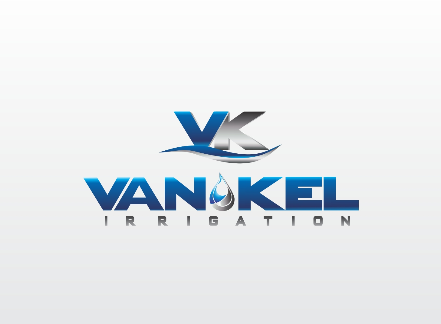 Logo Design by Zdravko Krulj - Entry No. 235 in the Logo Design Contest Van-Kel Irrigation Logo Design.