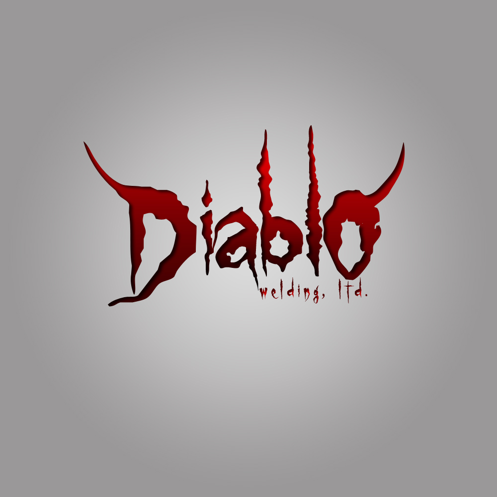 Logo Design by omARTist - Entry No. 54 in the Logo Design Contest New Logo Design for Diablo Welding Ltd..