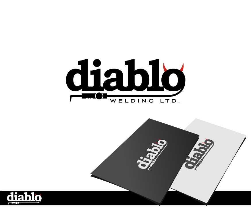 Logo Design by graphicleaf - Entry No. 55 in the Logo Design Contest New Logo Design for Diablo Welding Ltd..