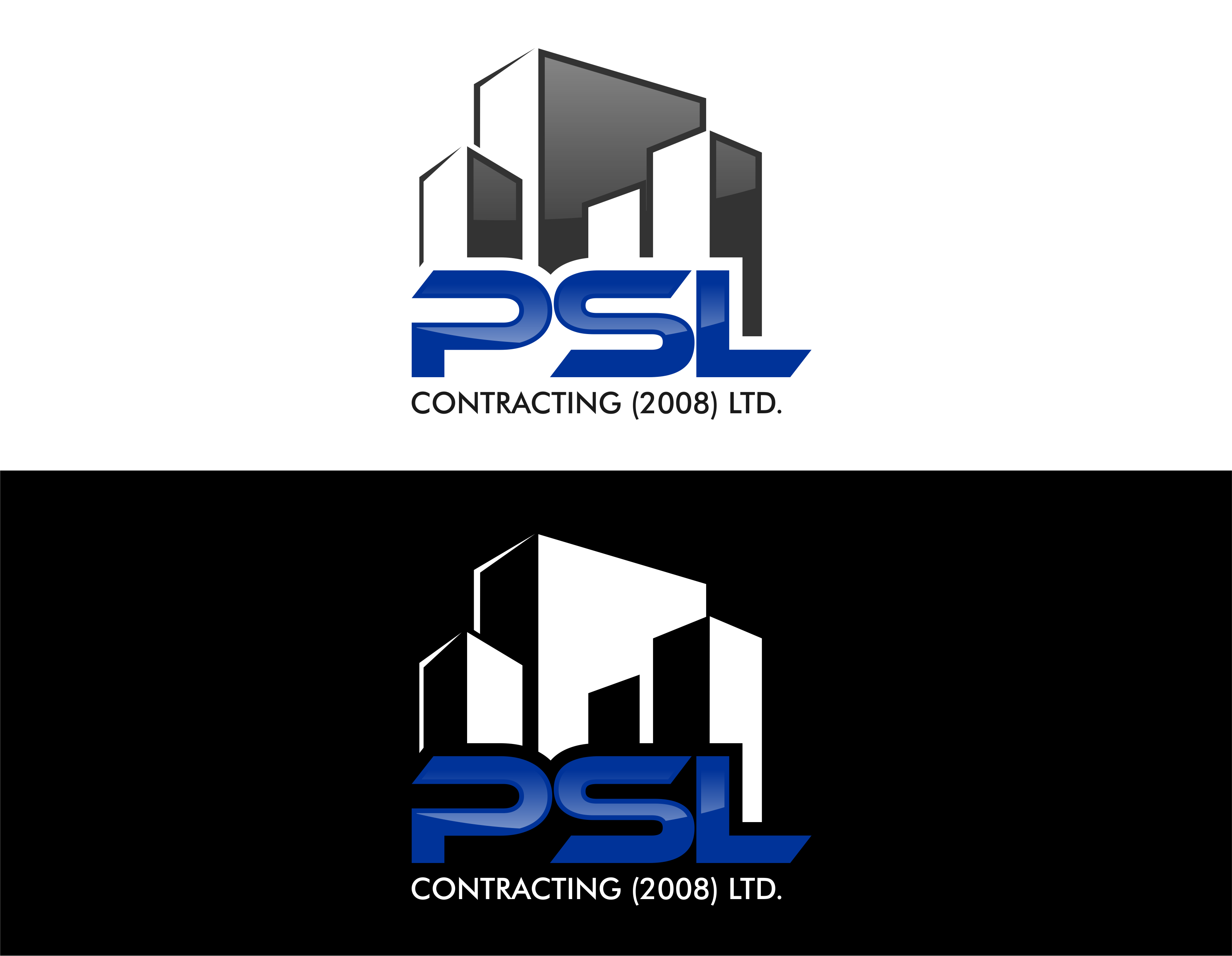 Logo Design by Private User - Entry No. 24 in the Logo Design Contest PSL Contracting (2008) Ltd. Logo Design.