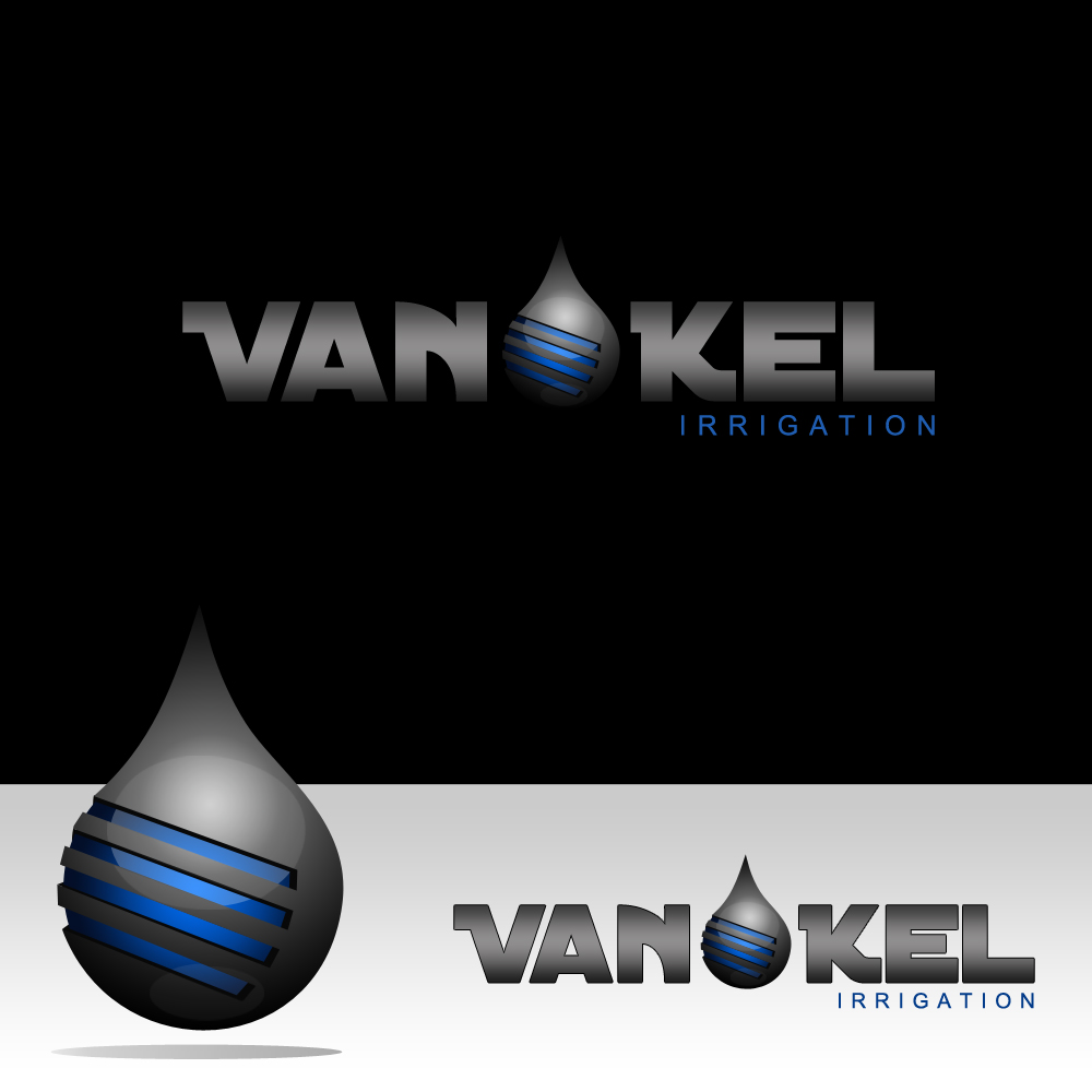 Logo Design by omARTist - Entry No. 243 in the Logo Design Contest Van-Kel Irrigation Logo Design.