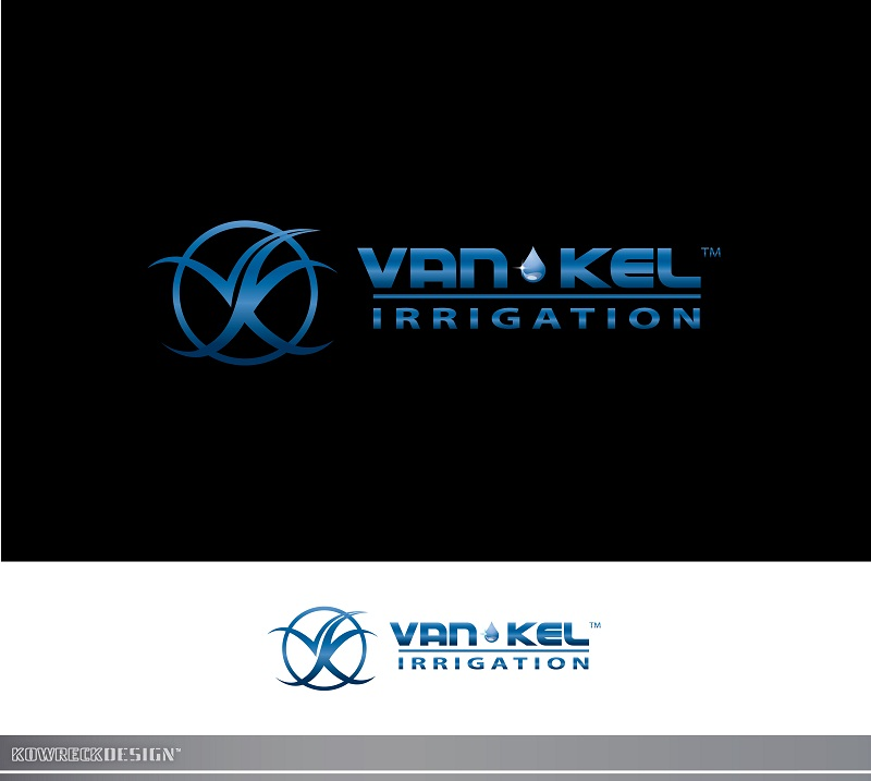 Logo Design by kowreck - Entry No. 247 in the Logo Design Contest Van-Kel Irrigation Logo Design.