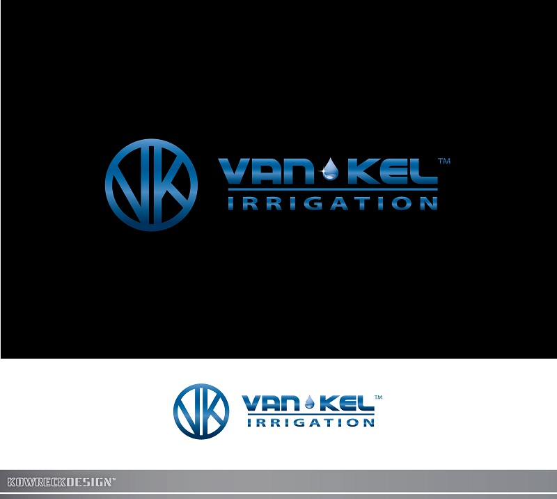 Logo Design by kowreck - Entry No. 248 in the Logo Design Contest Van-Kel Irrigation Logo Design.