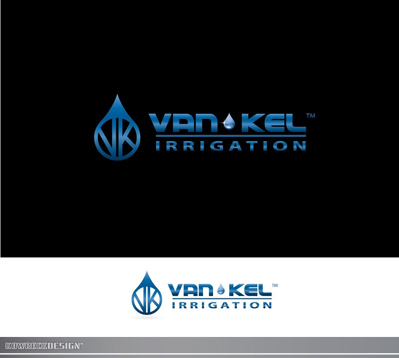 Logo Design by kowreck - Entry No. 249 in the Logo Design Contest Van-Kel Irrigation Logo Design.