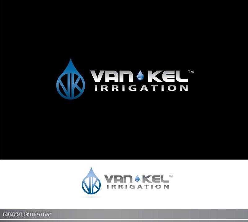Logo Design by kowreck - Entry No. 250 in the Logo Design Contest Van-Kel Irrigation Logo Design.