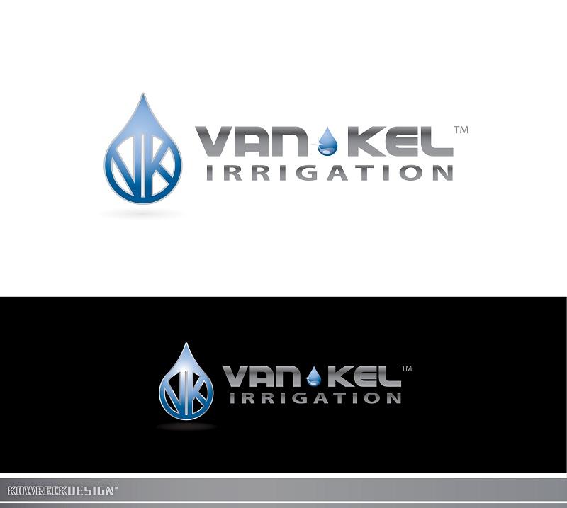 Logo Design by kowreck - Entry No. 254 in the Logo Design Contest Van-Kel Irrigation Logo Design.