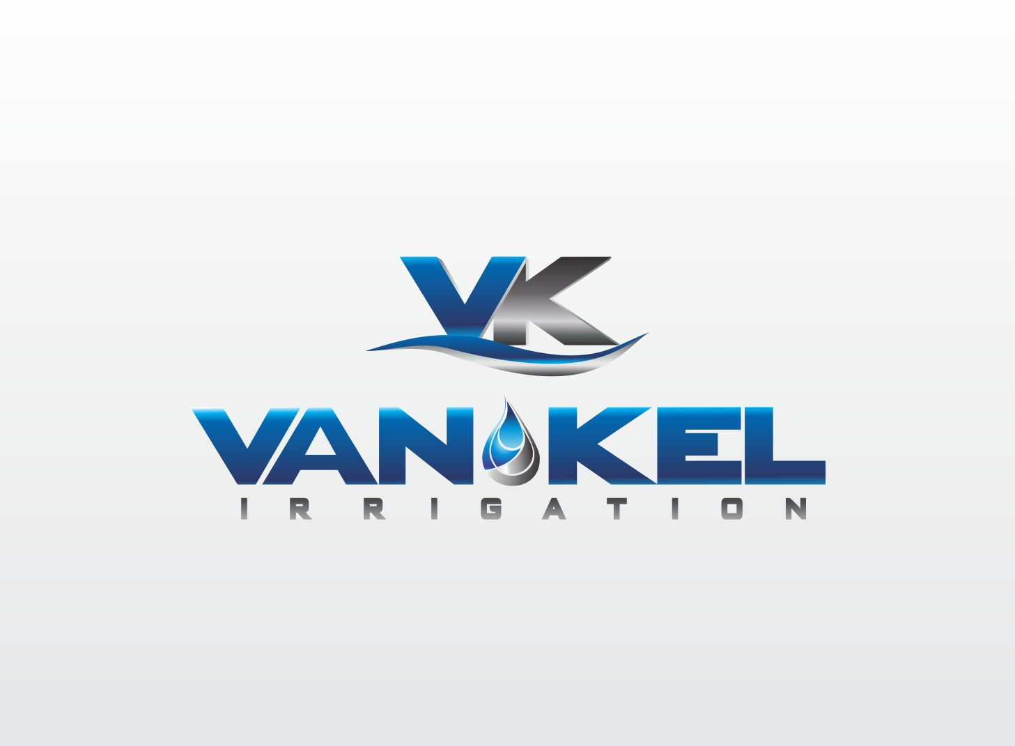 Logo Design by Zdravko Krulj - Entry No. 258 in the Logo Design Contest Van-Kel Irrigation Logo Design.