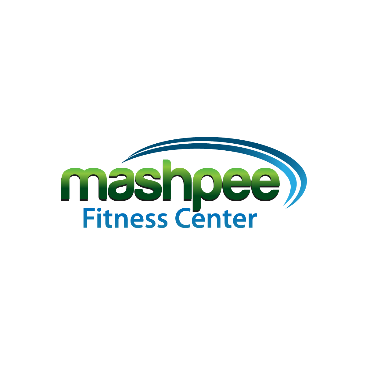 Logo Design by rockin - Entry No. 1 in the Logo Design Contest New Logo Design for Mashpee Fitness Center.