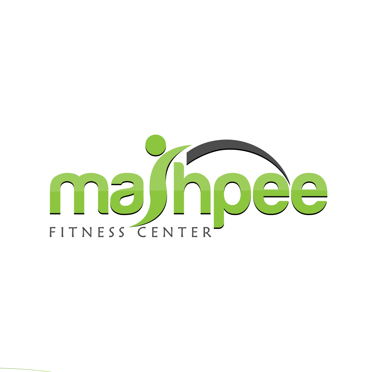 Logo Design by rockin - Entry No. 5 in the Logo Design Contest New Logo Design for Mashpee Fitness Center.