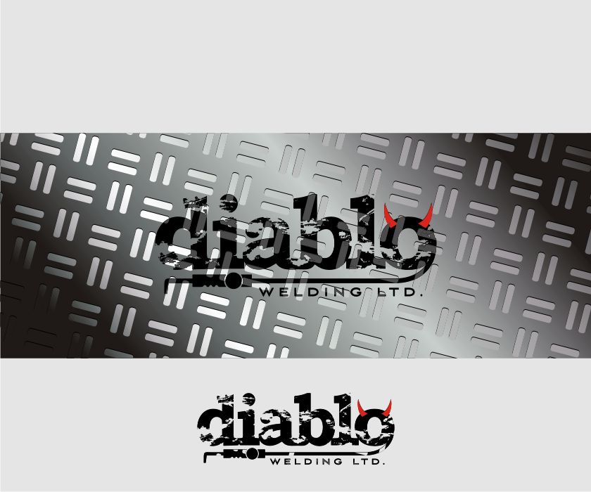 Logo Design by Muhammad Nasrul chasib - Entry No. 57 in the Logo Design Contest New Logo Design for Diablo Welding Ltd..