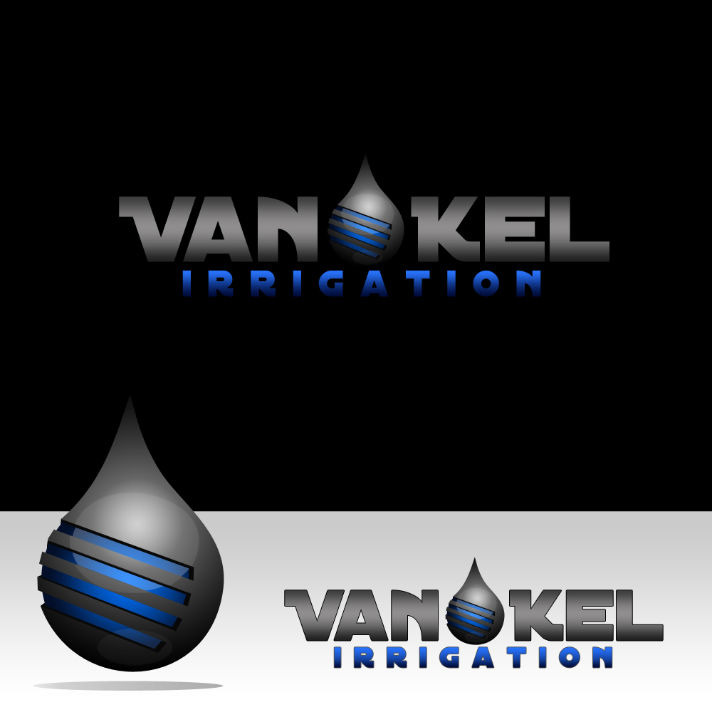 Logo Design by omARTist - Entry No. 267 in the Logo Design Contest Van-Kel Irrigation Logo Design.