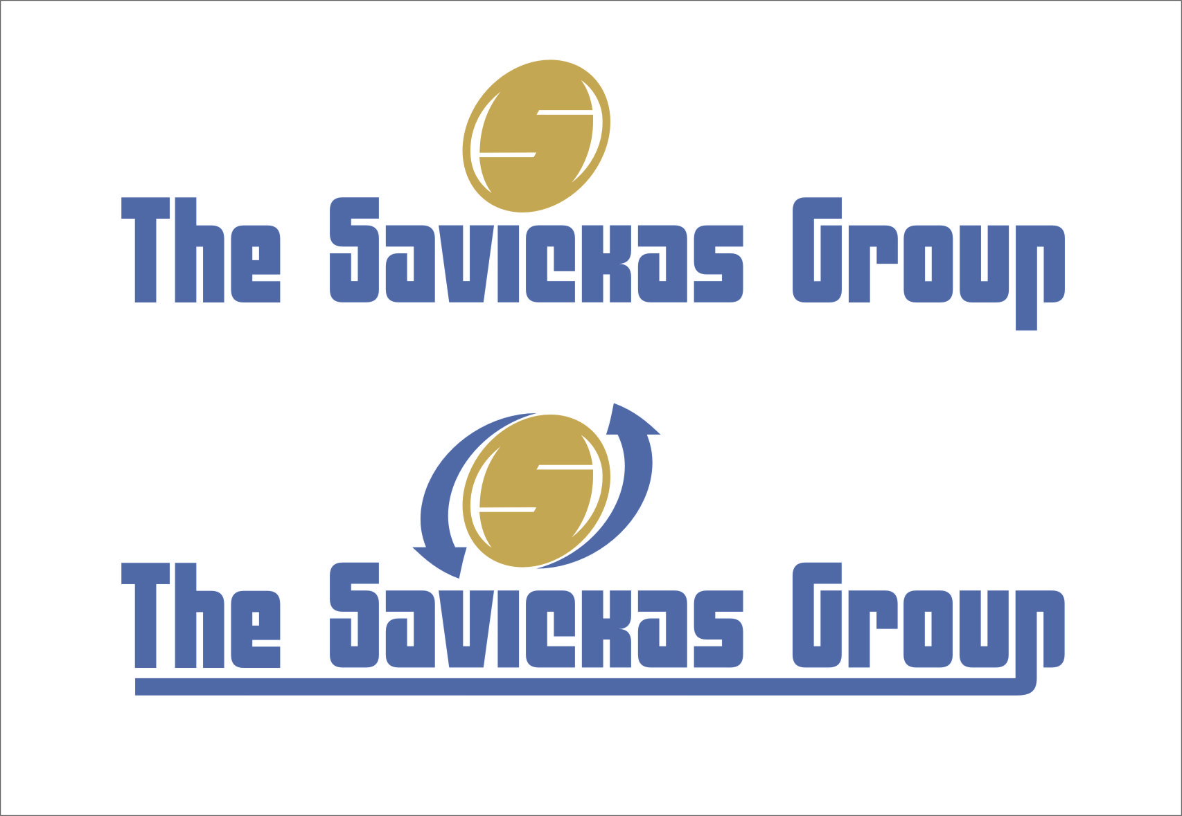 Logo Design by Ngepet_art - Entry No. 45 in the Logo Design Contest Logo Design Needed for Exciting New Company The Savickas Group.