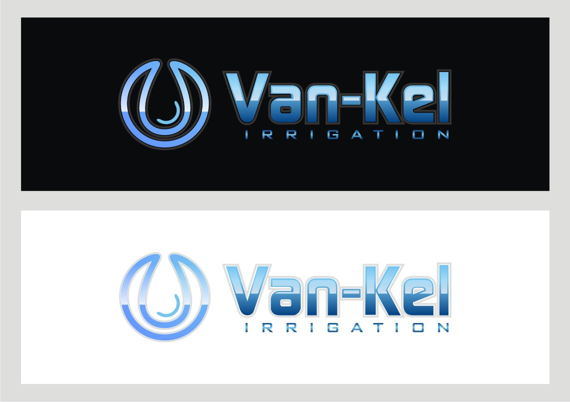 Logo Design by Private User - Entry No. 270 in the Logo Design Contest Van-Kel Irrigation Logo Design.
