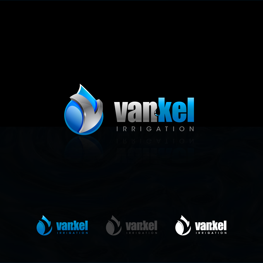 Logo Design by zesthar - Entry No. 275 in the Logo Design Contest Van-Kel Irrigation Logo Design.