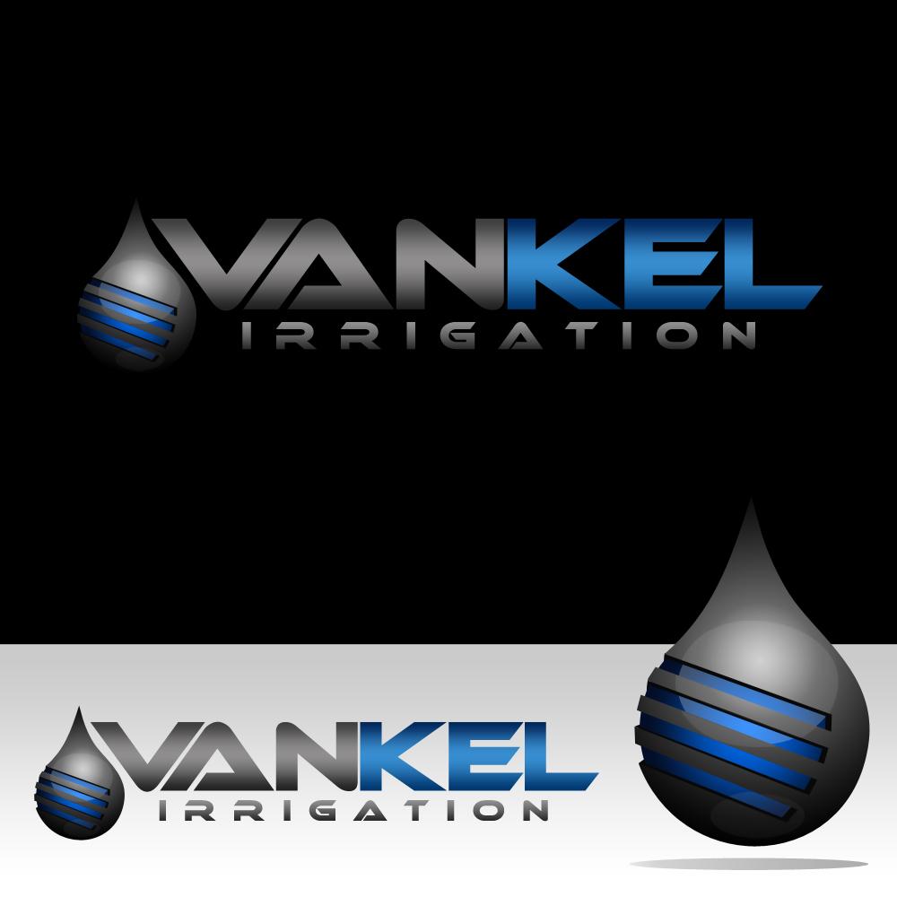 Logo Design by omARTist - Entry No. 280 in the Logo Design Contest Van-Kel Irrigation Logo Design.