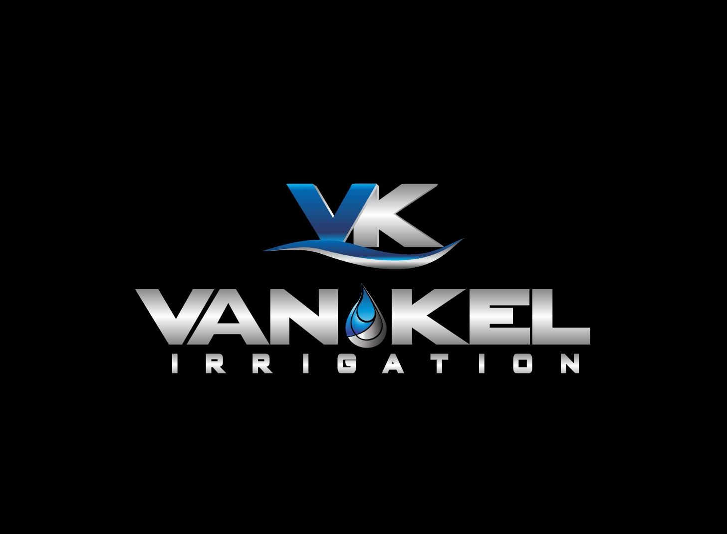 Logo Design by Zdravko Krulj - Entry No. 281 in the Logo Design Contest Van-Kel Irrigation Logo Design.