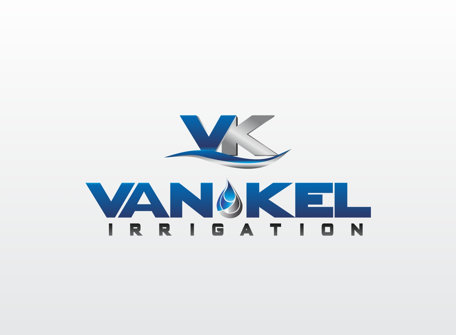 Logo Design by Zdravko Krulj - Entry No. 288 in the Logo Design Contest Van-Kel Irrigation Logo Design.