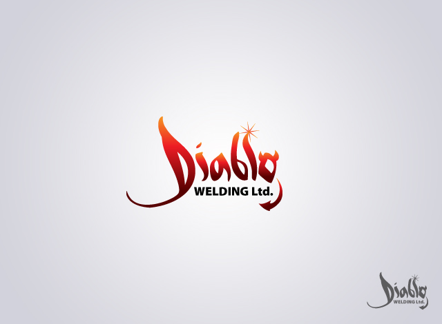 Logo Design by Private User - Entry No. 61 in the Logo Design Contest New Logo Design for Diablo Welding Ltd..