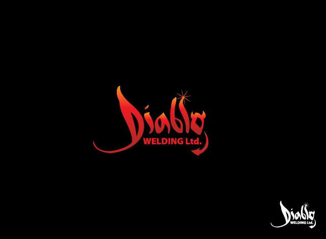 Logo Design by Private User - Entry No. 62 in the Logo Design Contest New Logo Design for Diablo Welding Ltd..