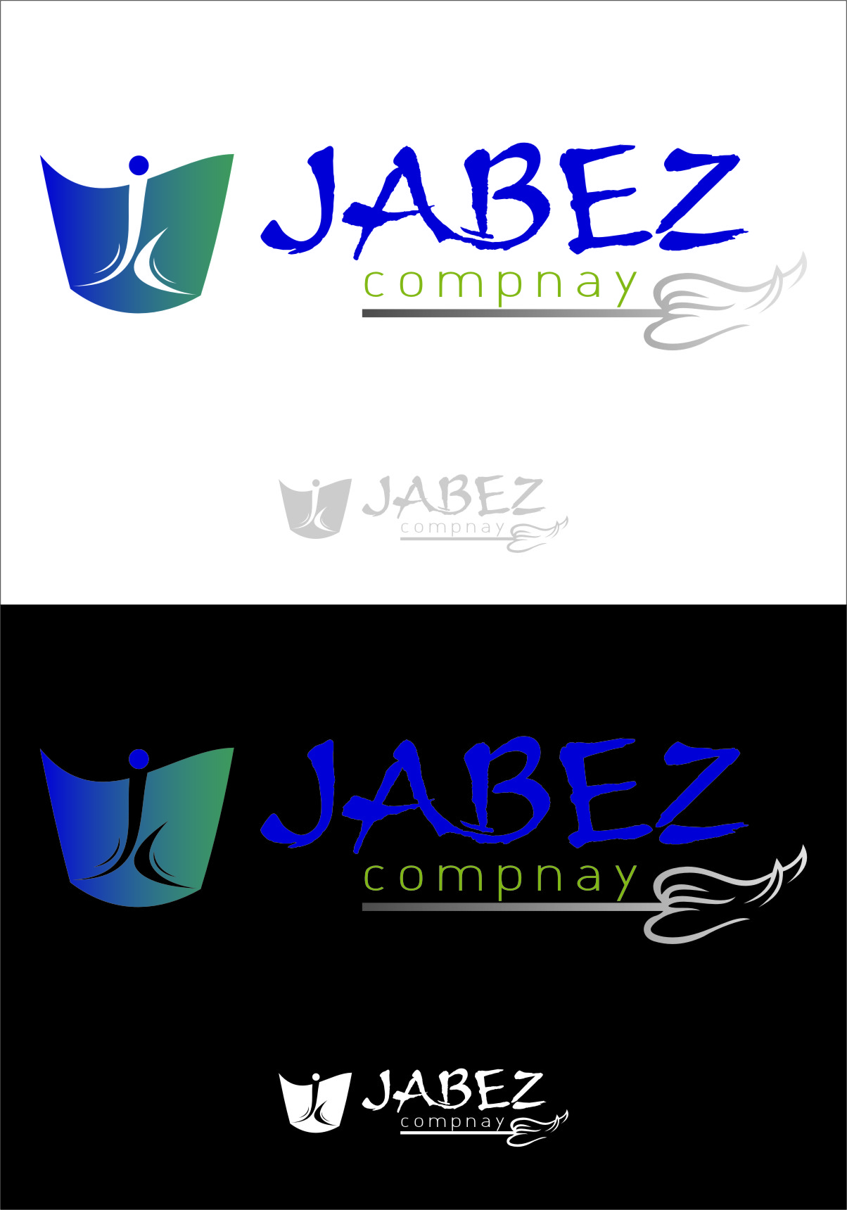 Logo Design by Ngepet_art - Entry No. 55 in the Logo Design Contest New Logo Design for Jabez Compnay, LLC.
